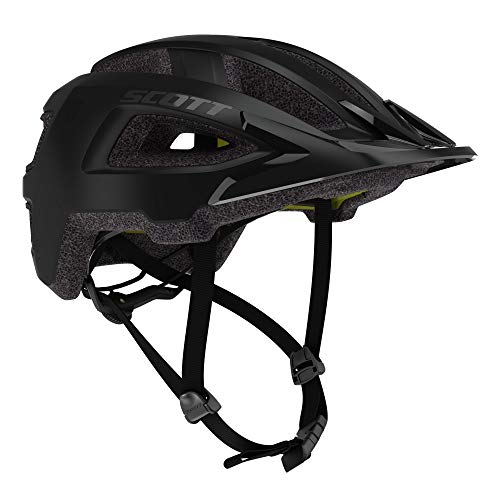 Scott Groove Plus MIPS Fahrrad Helm schwarz 2021: Größe: M/L (57-62cm)