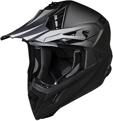 IXS 189 1.0 Motorradhelm schwarz matt S