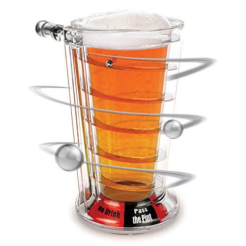 Barbuzzo Mystic Pint-glas – drinkglas met ingebouwd Fortune-bord – geniet van je favoriete drank en vergeet de toekomst.