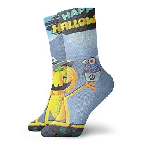 Felsiago Men's Women's Crew Socks Happy Thanksgiving Day Athletic Socks Designer Anti Bacterial Odour Cushion Short Boots Stockings