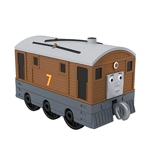 Thomas & Friends GHK63 Thomas and Friends Fisher-Price Toby, Multicolor