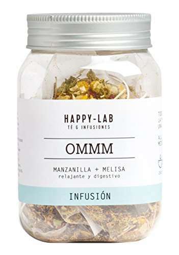 Happy-Lab OMMM Té Infusión - 14 pirámides