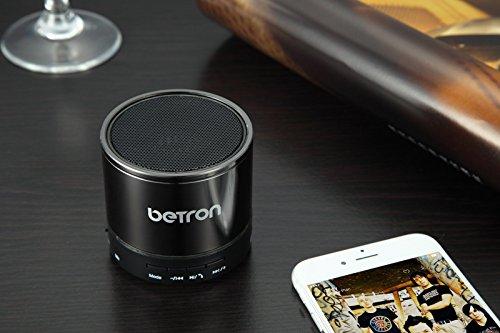 Betron KBS08 Wireless Portable Travel Bluetooth Speaker Titanium