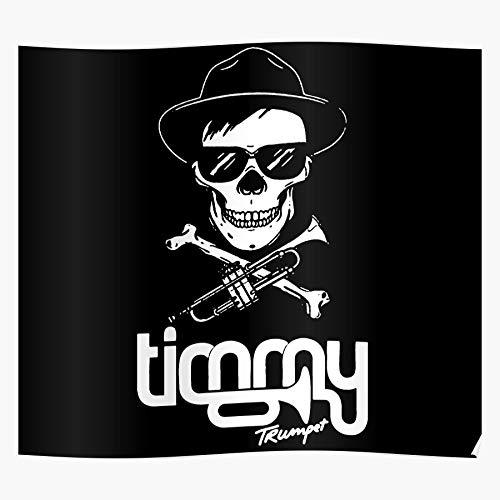 DripCreationz Trumpet EDM Van Dj Buuren Armin Timmy Festival Music Tomorrowland Spinnin Geschenk für Wohnkultur Wandkunst drucken Poster 11.7 x 16.5 inch