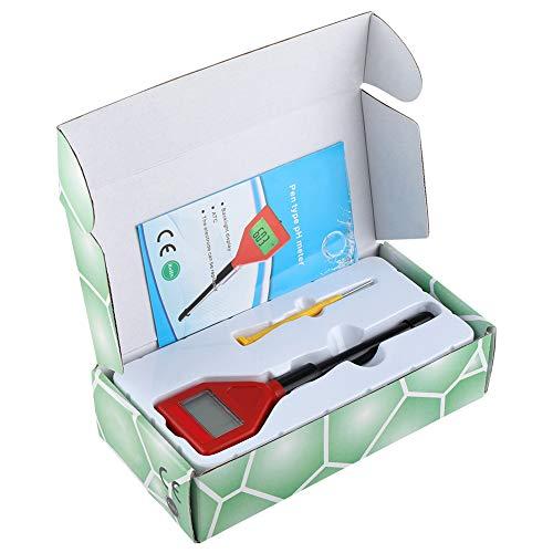 Raguso Medidor de humedad Probador Medidor de humedad de suelo Portátil Multiusos Humedad Detector de Suelo Impermeable Probador de Calidad de Agua para Jardín Suelo