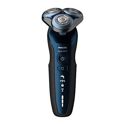 Philips Series 6000 Wet & Dry Rasoir électrique pour homme avec tondeuse de précision et tondeuse de nez S6650/48