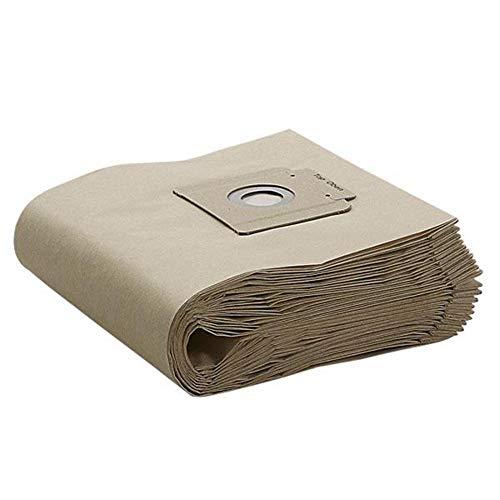 Kärcher 6.907-019.0 Papierfilter Staubsaugerbeutel für T 15/1, 10 Stück