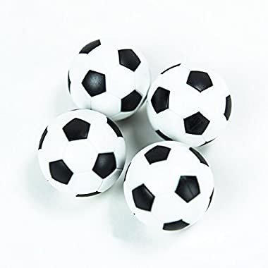 HUJI Foosballs Replacement Mini Soccer Balls (4)