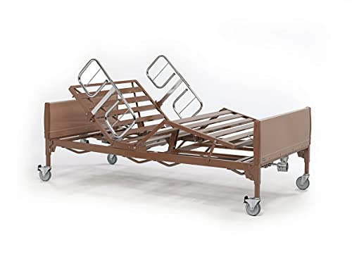 Invacare 600 lb. Weight Capacity | Heavy-Duty Bariatric Homecare Bed | Full Electric Hospital Bed for Home Use