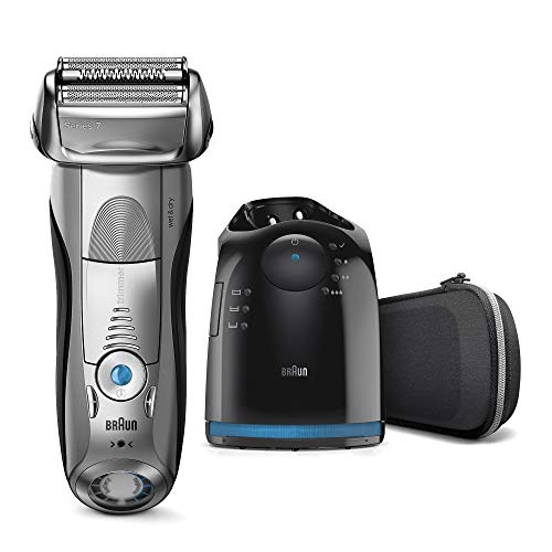 Braun Series 7 7898 cc – La afeitadora de adaptación inteligente y base Clean & Charge.