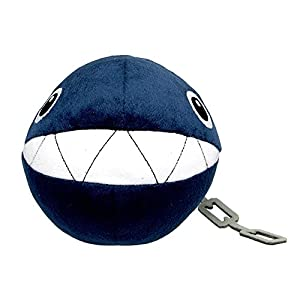 "Little Buddy Super Mario All Star Collection 1592 Chain Chomp Stuffed Plush, 5"",Multicolor - 41KjFOTJP5L - Little Buddy Super Mario All Star Collection 1592 Chain Chomp Stuffed Plush, 5″,Multicolor"
