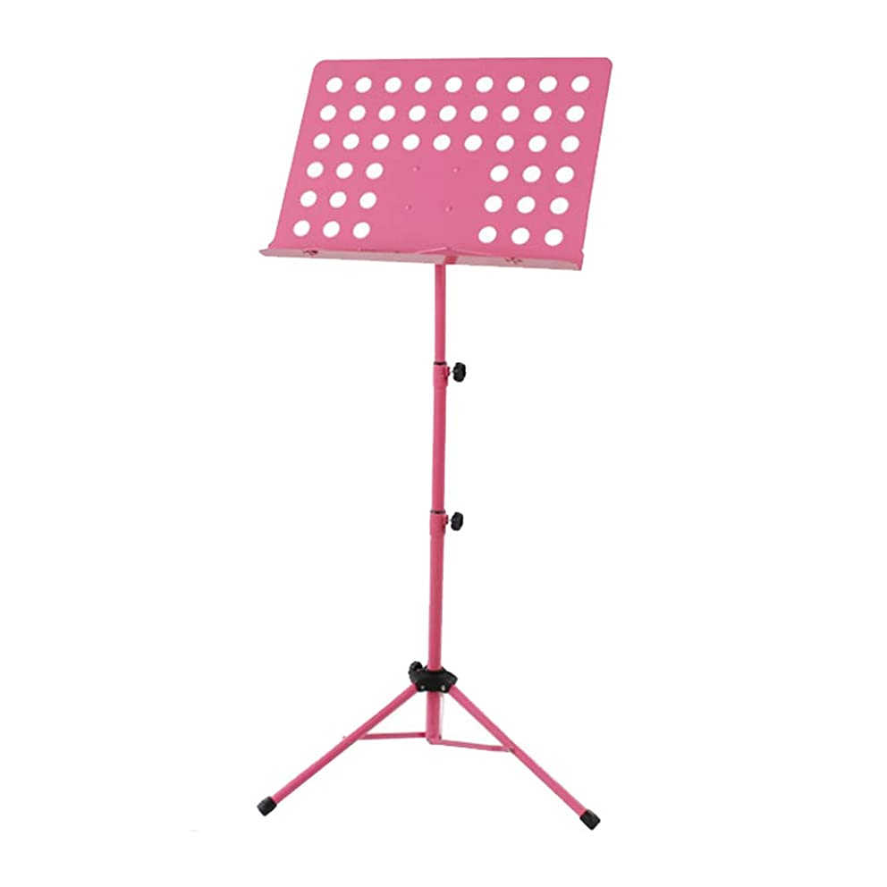 Nosterappou Load-bearing strong music stand foldable lifting bold violin music stand guitar stand, each joint can be folded, easy to carry, suitable for all instruments, freely retractable, can be cli