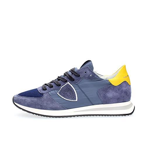 Philippe Model Blue Yellow Trpx Mondial Sneaker Man
