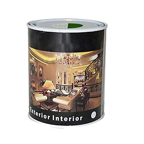 Pintura Esmalte al Disolvente para Madera y Metal, Pintura Alquidica de Rápido Secado para Superfícies Interiores y Exteriores(Verde Carruajes, 375 ML)