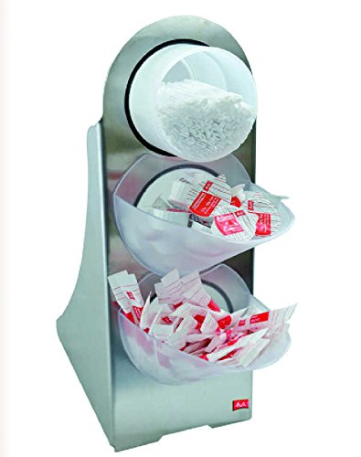 Melitta Portionsspender Zucker - Kaffesahne - Rührstäbchen - Spender