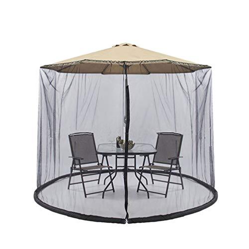 IMIKEYA Foot Umbrella Table Screen Patio Mesh Umbrella Mosquito Netting Umbrella for Outside Garden Outdoor