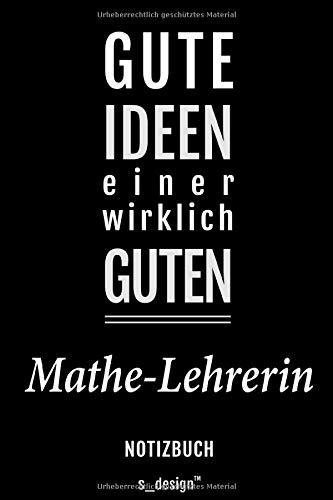 Notizbuch für Mathe-Lehrer / Mathe-Lehrerin: Originelle Geschenk-Idee [120 Seiten kariertes blanko Papier]