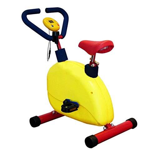 LDIW Heimtrainer für Kind, Indoor-Fahrrad Einstellbarer Widerstand Geeignet für Kinder von 3-8/90-140cm, Junge Mädchen Geburtstagsgeschenk