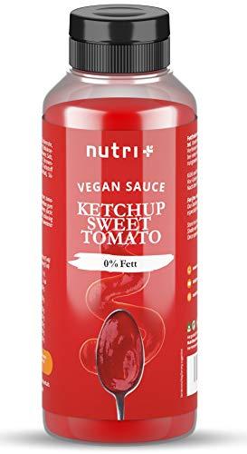 LIGHT KETCHUP ohne Zucker Sweet Tomatoe - nur 2 Kalorien pro Portion - Low Carb Tomaten Sauce Zero vegan - Zuckerarm & Fettfrei - kalorienarm - Ideal als Tomatenketchup zu Pommes