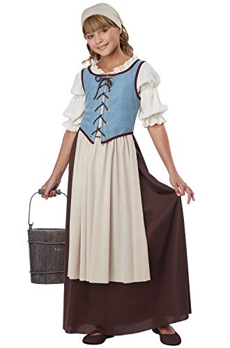 California Costumes Renaissance Peasant Girl Child Costume, X-Large