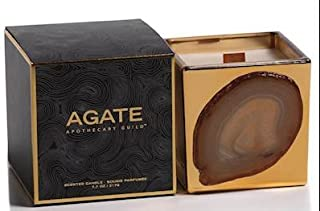 Agate Apothecary Guild Scented Candle Jar 7.7oz Black Currant Fragrance
