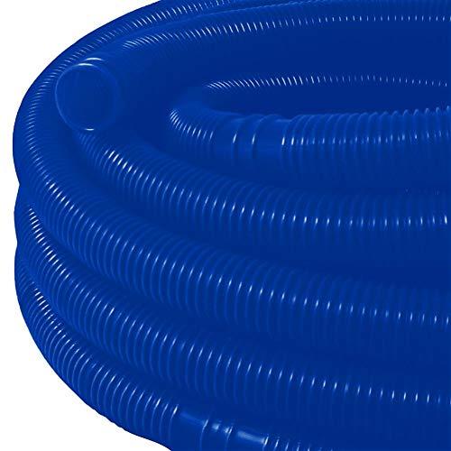 HEREB Tubo Flexible,Tubería de Agua Manguera de Piscina Flexible de 32 mm Tubo de Agua Resistente a los Rayos UV Tubo de Bomba de Agua de Cloro