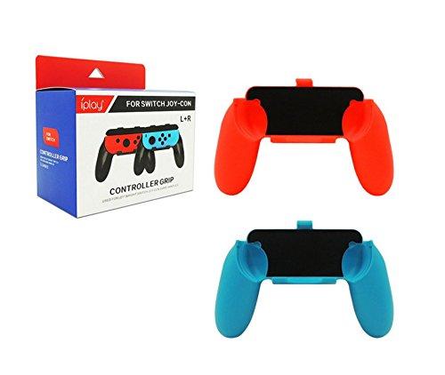 LeSB Nintendo Switch Mandos Joy-con Grips - [2 Paquetes]