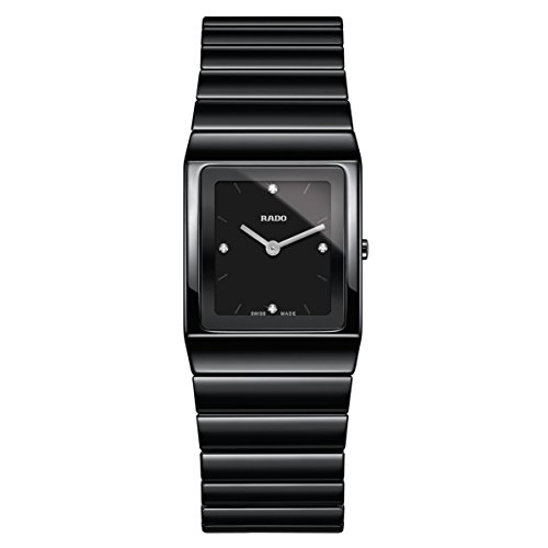 Rado Ceramica dameshorloge diamant armband keramische batterij R21702702