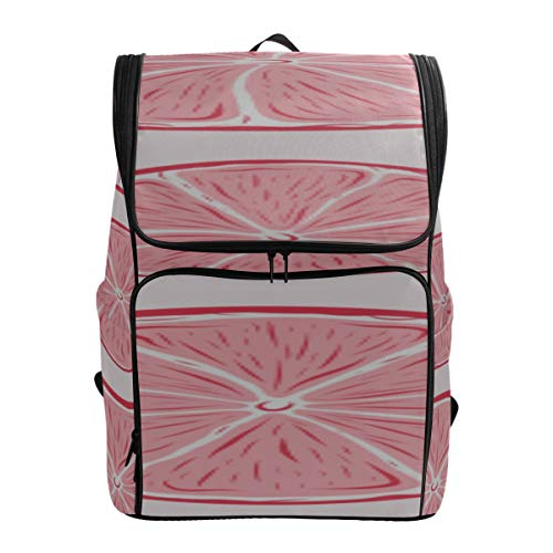 Colorful Delicious Grapefruit Slices Ladies School Bags Hiking Daypacks For Men Light Daypack Backpack Men College Bag Fits 15.6 Inch Laptop And Notebook Crossbody Backpack For Women Best School Bag
