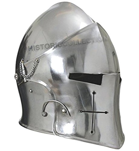 Visored Barbuta Helmet Armour