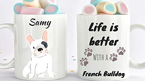 King34Webb Taza de café para perro mamá o perro mamá, regalo para los amantes...