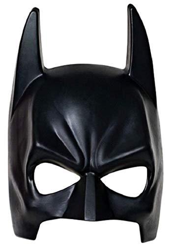 Maschera Batman Bambino Carnevale Mascherina Bat Uomo Pipistrello Supereroi Colore Nero Giochi E Accessori Da 7-9 Anni Per Travestimenti Ottimo Regalo Per Natale O Compleanno