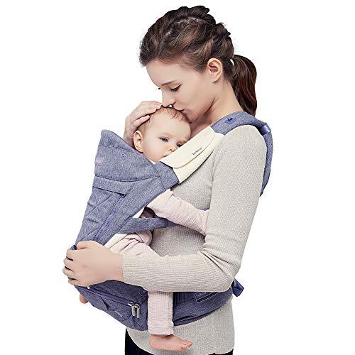 【ベビーアムール】Bebamour 抱っこ紐人気 ベビーキャリアー 新生児 6way アルミニウム製支柱 たためる