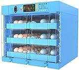 Incubatrice Automatica da per 192, Incubatrice per Uova Controllo Automatico di Temperatura, Hatcher Automatico di Grande capacità per Gallina, Anatra, Quaglia, ECC,Blue