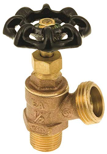 HAMMOND VALVE CORPORATION GIDDS-261508 Boiler Drain, 1/2' MIP