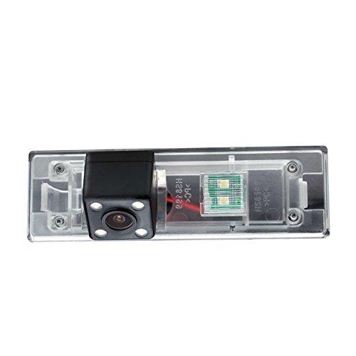 Misayaee Telecamere posteriori in luce targa per BMW 1 Series M1 E81 E87 F20 F21 116i 118i 120i 135i