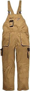Portwest Texo Contrast Bib & Brace, Regular Length, Colour: Epic Khaki, Size: M, TX12EKRM