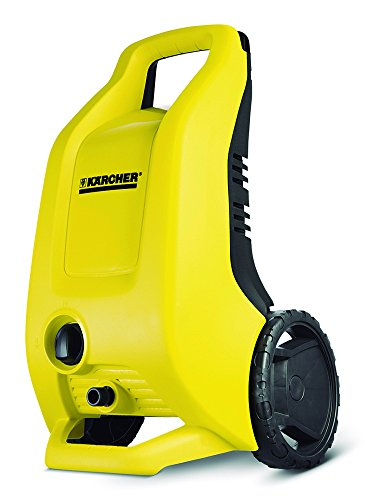 Karcher Limpiadora de alta presión con barra telescópica y práctico compartimento de accesorios