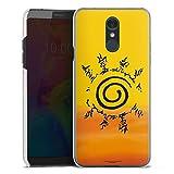 DeinDesign Coque Compatible avec LG Q7 Plus Étui Housse Naruto Shippuden Produit sous Licence...