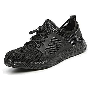 41KjOHF 23L. SS300  - Ucayali Zapatos de Seguridad con Punta de Acero para Hombre Mujer - Cómodos Ligeros y Transpirables, Talla 39-48