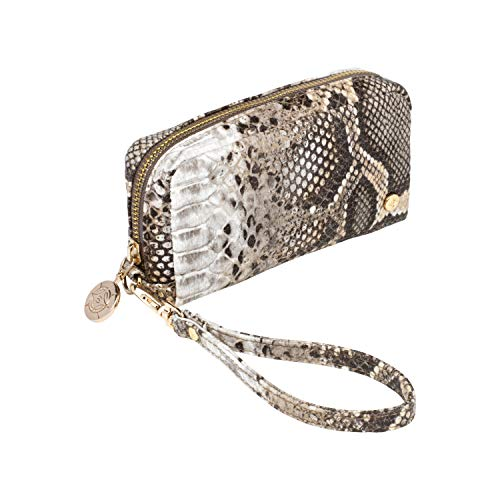 This cosmetic bag makes it super easy to toss into almost any size purse or tote. The wrap-around zipper and tab zipper pull make accessing make-up a cinch. This adorable zip-around case doubles as a wrist wallet or miniature clutch-with just enough ...