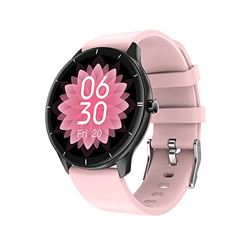 RAPG Reloj Inteligente Rastreador de Fitness para Hombres Y Mujeres Contador de Calorías del Podómetro del Monitor del Ritmo Cardíaco Reloj Deportivo Bluetooth Impermeable IP68 con