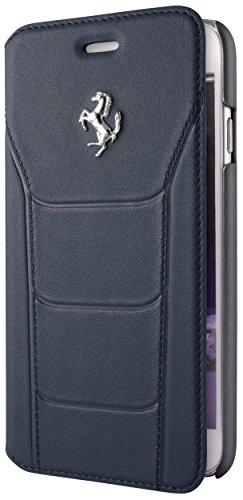 Ferrari feseflbkp6bl Debossed Piel Book Type 488Buzón para Apple iPhone 6/6s 11,9cm (4,7Pulgadas), Color Azul
