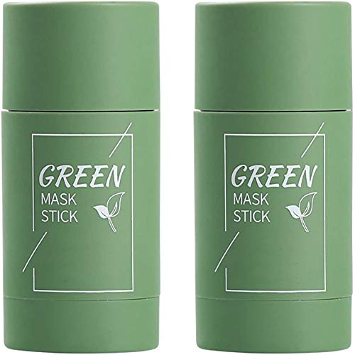 WTYQA KUOGE Green Tea Purifying Clay Stick Mask Oil Control Deep Cleaning Shrink Pores (Green Tea)