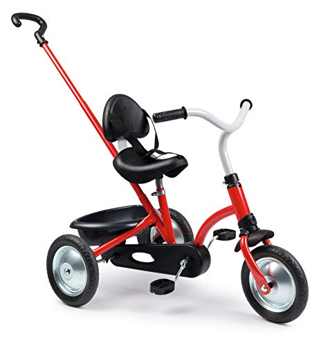 Smoby 740800 Triciclo Zooky, Rosso