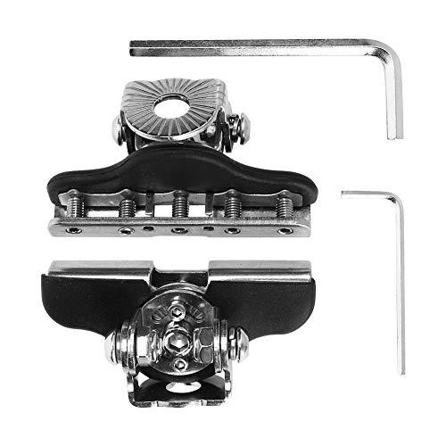Outbit Drehbare Halterung für Haubenlichtstange - Klemmenhalter für Edelstahl-Scheinwerfer IP68 Wasserdichtes Universal-Autozubehör