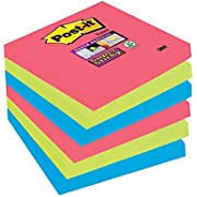 Post-it 76 x 127 mm Super Sticky Notes Pads - (Pack of 6)