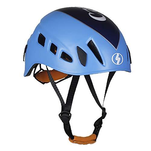 NVBXDF Outdoor-Kletterschutzhelm (57-62 cm), Unisex-Rennradhelm, Verstellbarer Gürtel