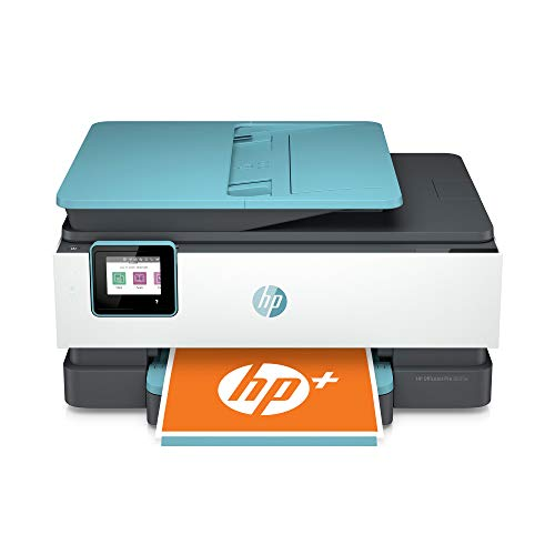 HP OfficeJet Pro 8035e All-in-One Wireless Color Printer (Oasis) for home office, with 12 months Instant Ink with HP+ (1L0H7A)