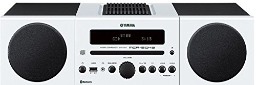 Yamaha MCR-B 043 - Microcadena, Color Blanco